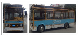 bus with ADAS